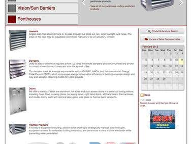 Arrow United Industries Website