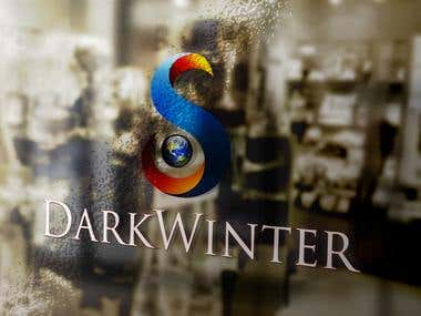 DarkWinter SK Sticker