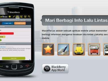 MacetTerus Mobile Application
