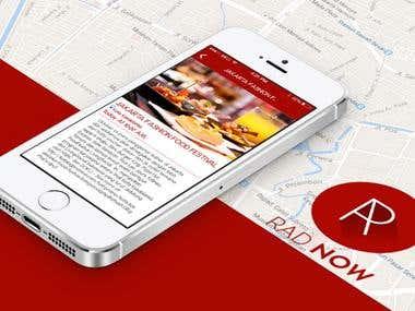RadNow Mobile Application