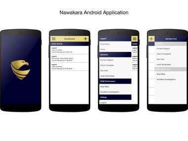 Nawakara Android Application