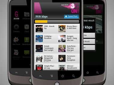 3G On Mobile Application