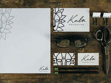 Kala Collection Stationary Mockups