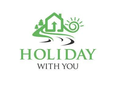 Logo Design for Holiday with You Website