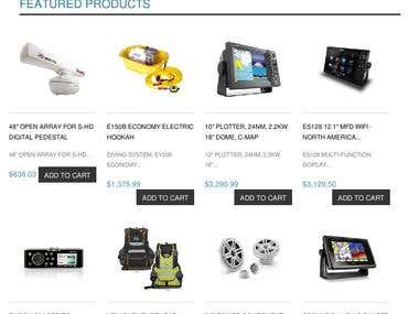 Citimarine Ecommerce Store