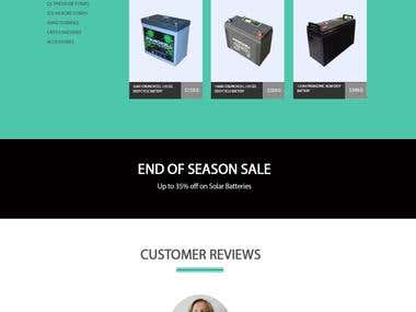 SolarZenith Wordpress