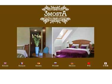 Hotel website translation