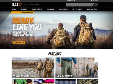 Magento - 511 Tactical Project