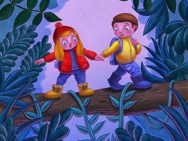 my children's book illustrations