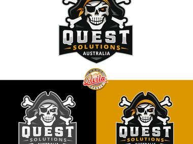 Quest Solutions Logo Design