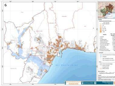 Estudio de Población afectada frente al riesgo de inundación