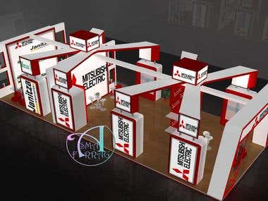design of big booth