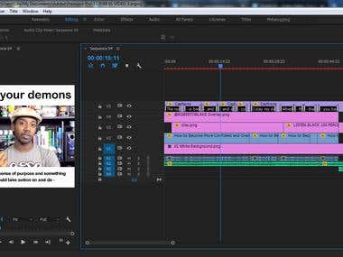 Editing of a Video for Instagram