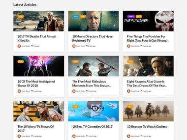 TV Hero - Blogging related to TV Series Website