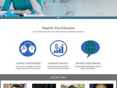 Online Tutor - Student - Schools website