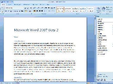 MS Word Writing and Services