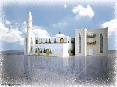 Mosque exterior design
