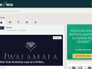 School Listing website