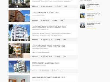 Listing website