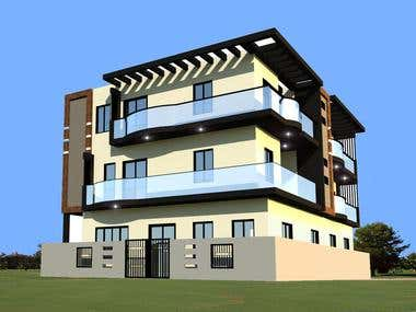 3 story-apartment design