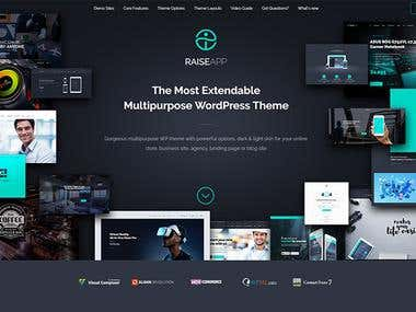 Wordpress Custom Theme / Plugin Development