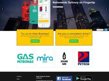 Online Gas Booking Website