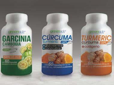 Garcinia, Curcuma & Turmeric Caps
