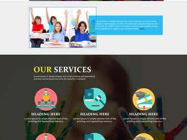 Online Coaching website.