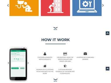 Mobile APP and Website for Service Booking Management