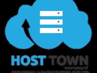Logo Design For Host Town