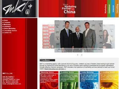 Marketing Online Web Site