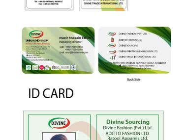 Visiting and ID CARD