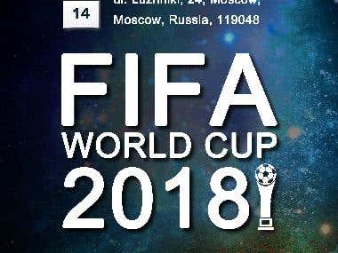 Poster Design - FIFA World Cup 2018