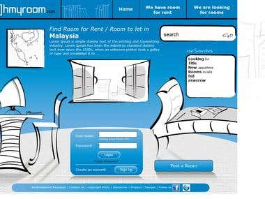 Ohmyroom - To rent and Let Website