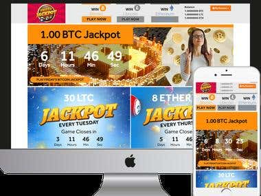 Lottery crypto currency game.