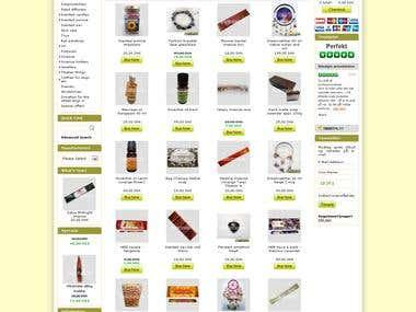 OsCommerce site