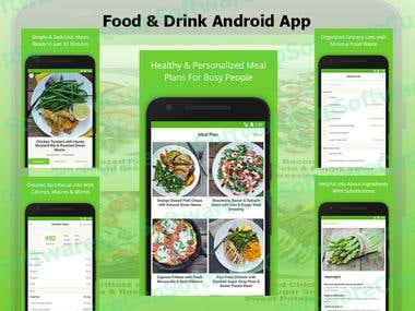 Android Food & Drink App