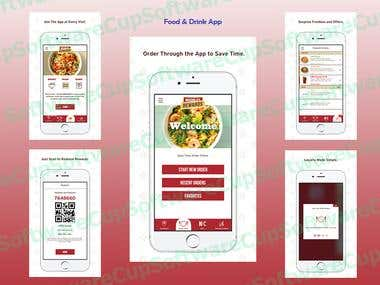 iOS Food&Drink App(Reservation)