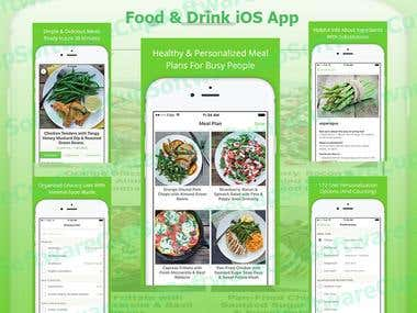 iOS Food & Drink App
