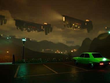 Simon Stalenhag on Unreal Engine 4