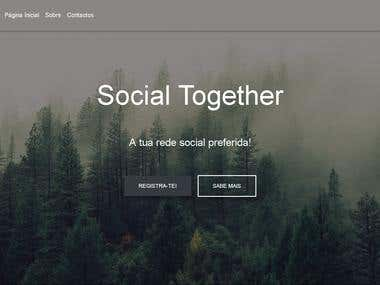 Social together front page