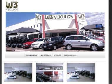 Site W3 Veiculos