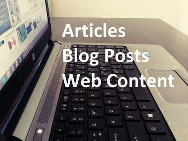 Articles & Blog Posts