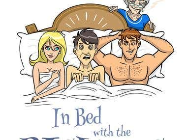 In Bed With the Bishops- Poster Design