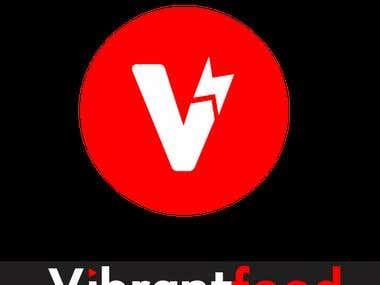 Logo For VibrantFeed Media