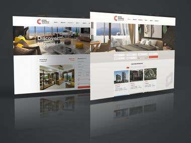 Real estates Website Bootstrap and PHP support 3 Language