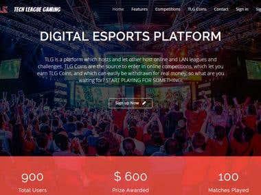 TECH LEAGUE GAMING - Online gaming portal