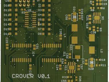 Double Side PCB ESP8266 and ATMEGA328P based Level actuator