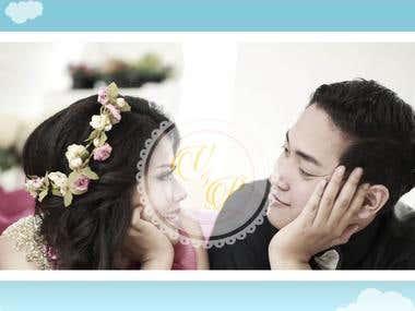 Vivin & Putera wedding site