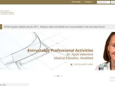 GPEX E-learning Portal